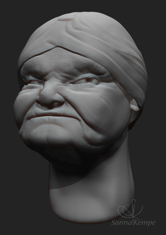 2_Female head_03